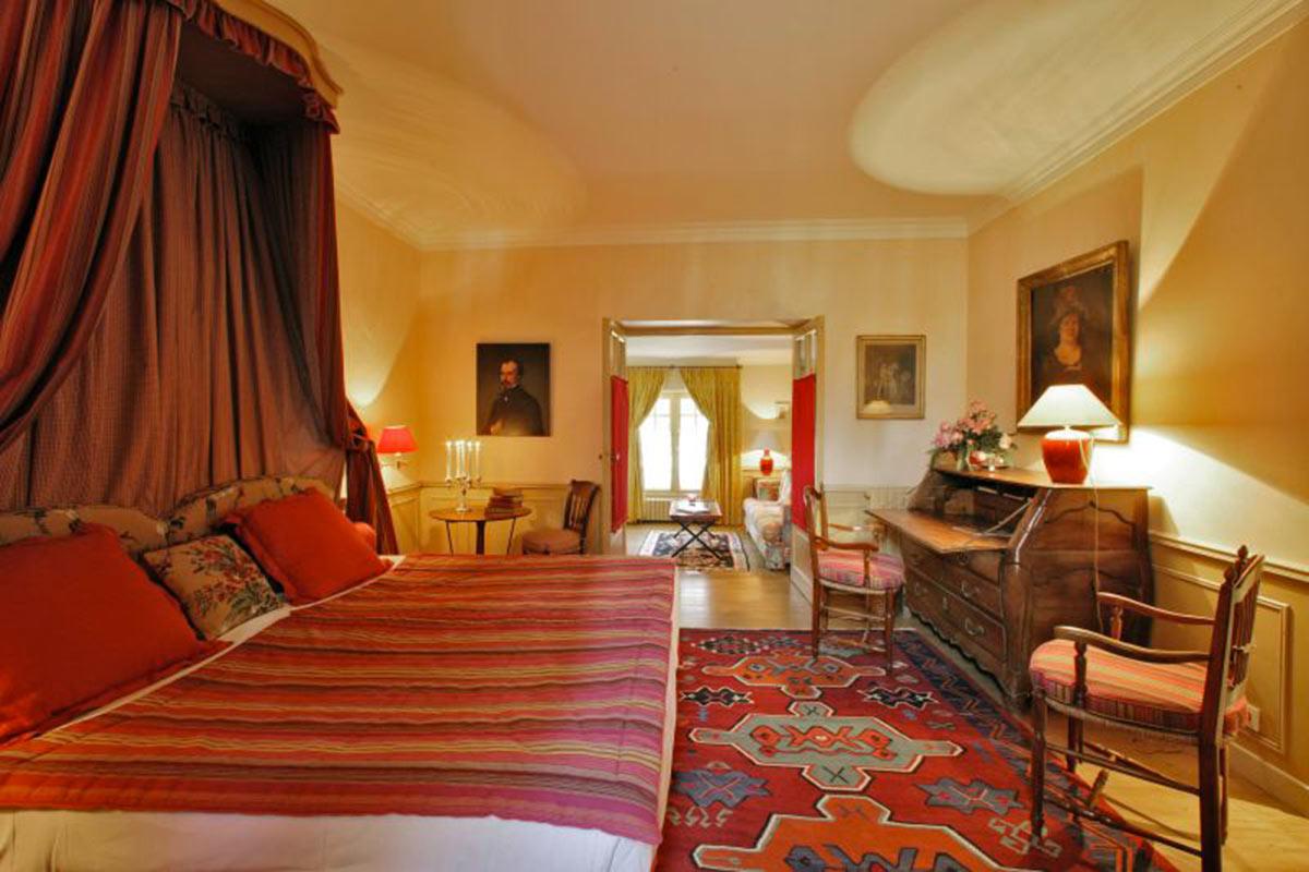 Junior suite LE VIEUX LOGIS Hôtel 4 étoiles - Relais & Châteaux Périgord Dordogne