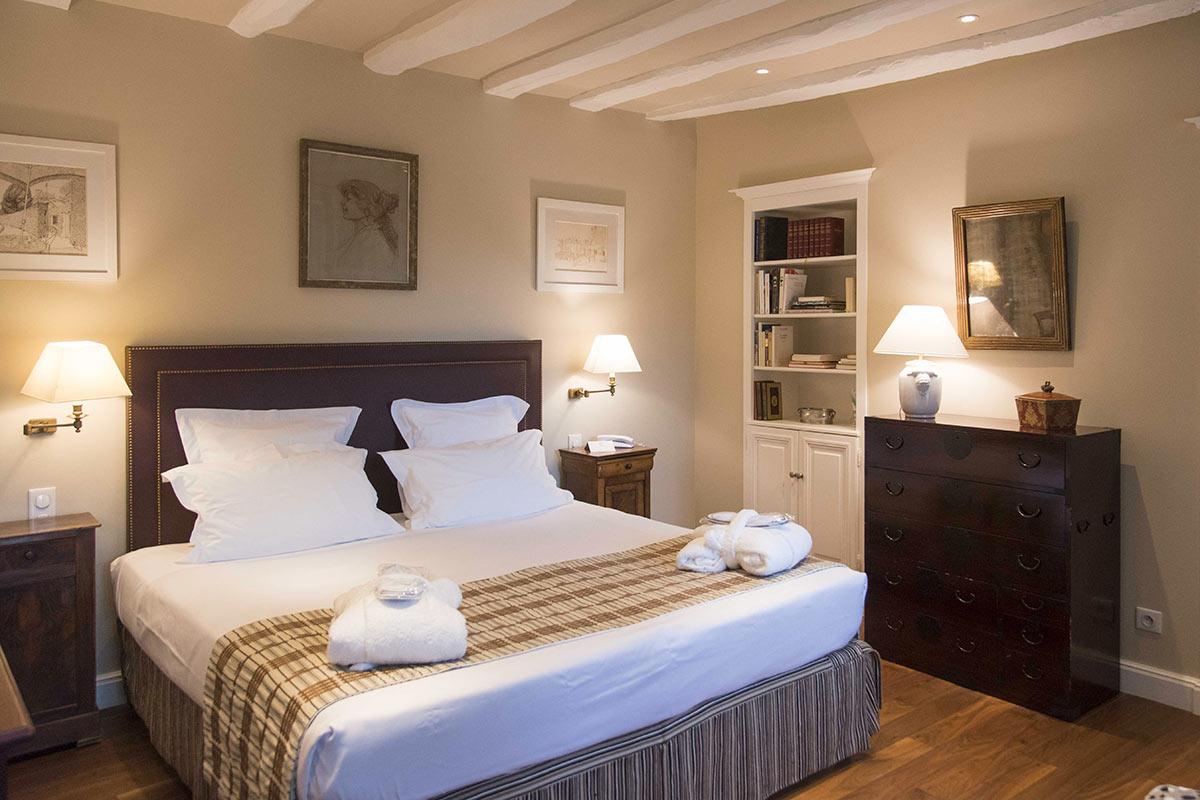 Chambre Grand standing LE VIEUX LOGIS Hôtel 4 étoiles - Relais & Châteaux Périgord Dordogne